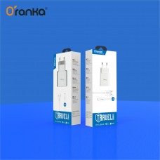 KTC-28 Oranka Fast High-Quality Travel Charger For Lightning/Micro/Type-C